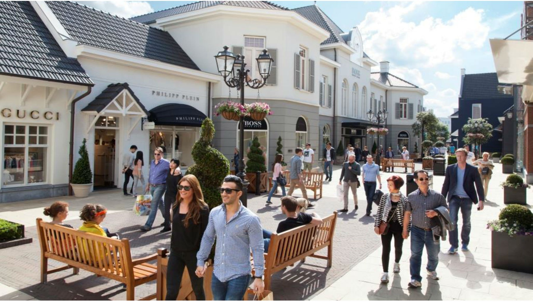 Designer Outlet Roermond Discount Mall in the Netherlands
